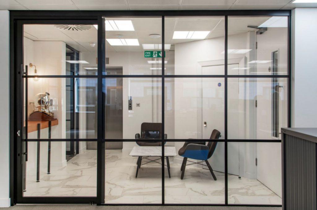 Sliding glass doors London
